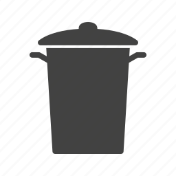 bin, bins, can, container, garbage, recycling, trash icon