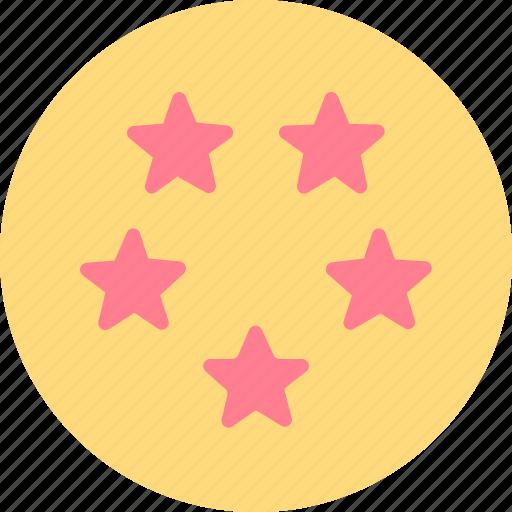 hotel, service, stars icon
