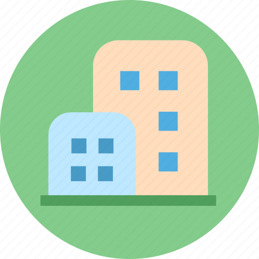 building, city, hotel, house icon