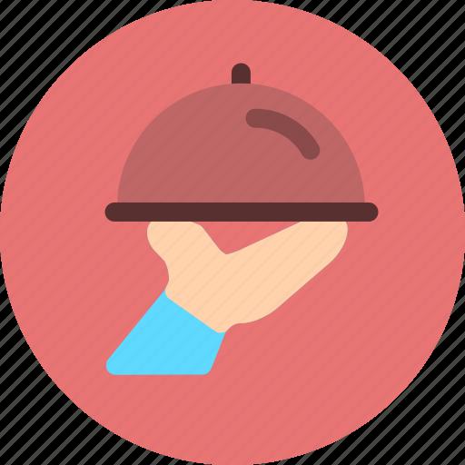 hotel, restaurant, service icon