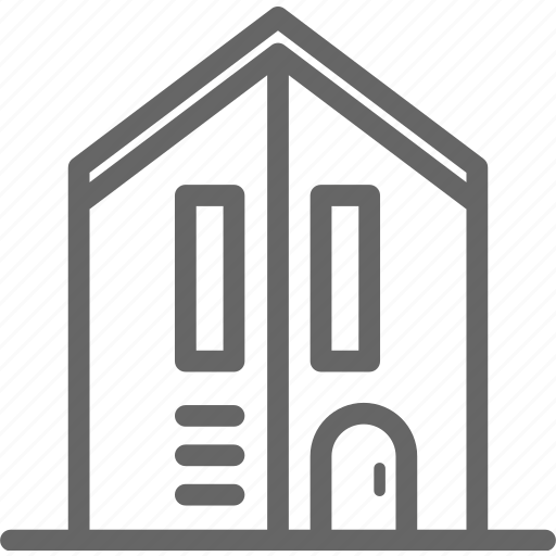 apartment, home, house, loft, minimal icon