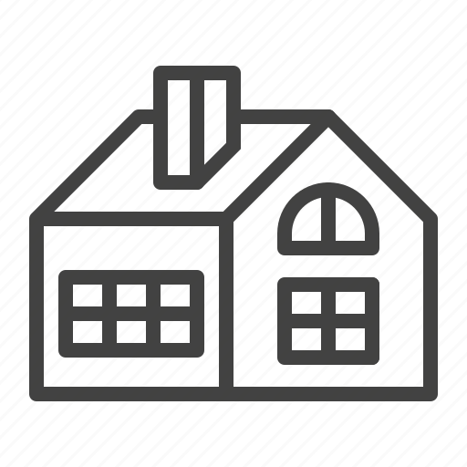 building, cottage, home, house, residential icon