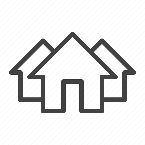 home, homepage, houses, page icon