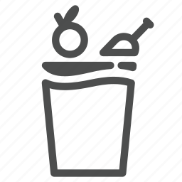 bin, home, house, household, kitchen, rubbish icon