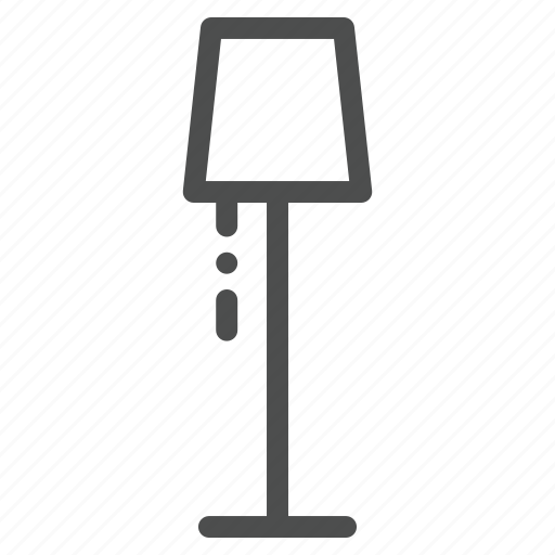 lamp, livingroom icon