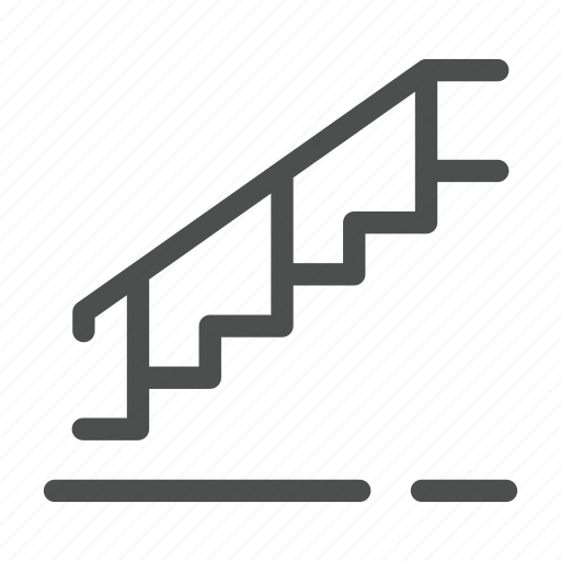 home, stairs icon