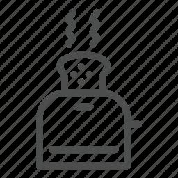 home, kitchen, toaster icon