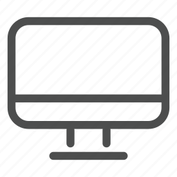 appartment, apple, display, mac, screen, set, tv icon