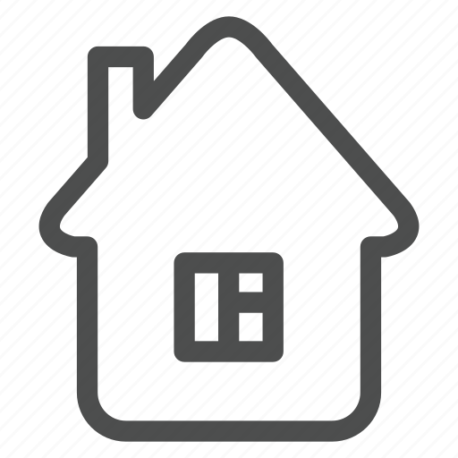 building, home, house, household, live, room, window icon