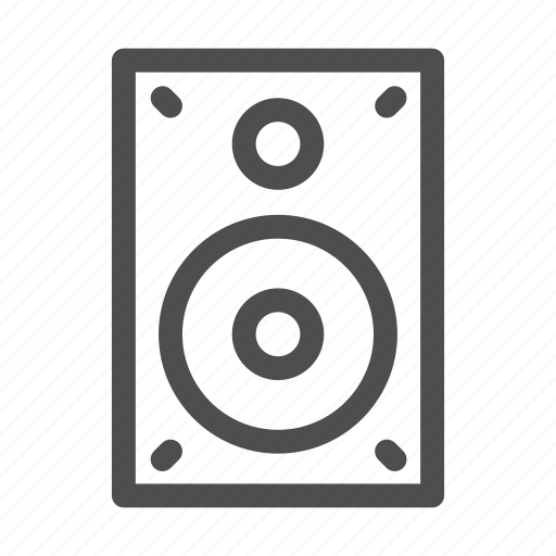 appliances, fun, loud, music, noise, sound, speakers icon