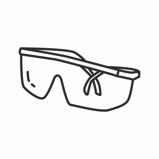 equipment, glasses, googles, household, protection glasses, safety glasses, tools icon