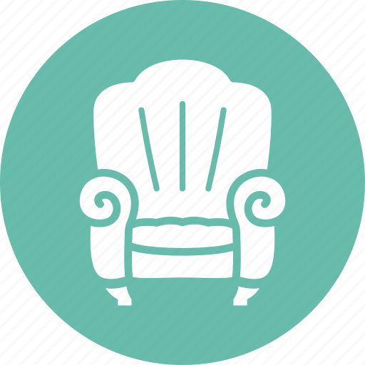 armchair, furniture, sofa icon