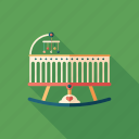 baby, bed, child, cradle, crib, family, newborn icon