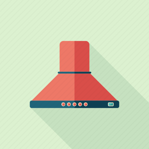 cooking, equipment, extractor, filter, hood, kitchen, stove icon