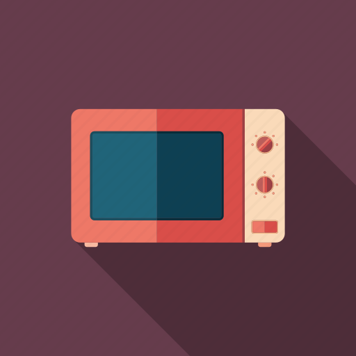 cooking, electronics, equipment, kitchen, microwave, object, technology icon