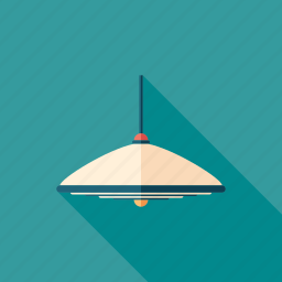 electric, lamp, light, lighting, luminaire, pendant, spotlight icon