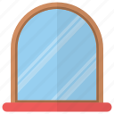 home mirror, looking glass, mirror, reflection mirror, washroom mirror icon