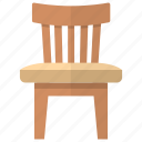 desk chair, dining chair, room interior, sitting bench, sitting chair