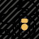 carbon, monoxide, detector, gas, warning icon