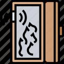 door, sensor, fire, burning, protection