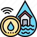 flood, sensor, water, leaking, house