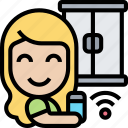 window, lock, control, smart, house