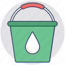 vessel, bucket, barrel, container, pail