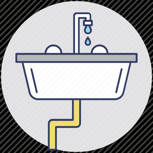 bathroom interior, bathroom sink, kitchen sink, sink, wash basin icon