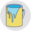 paint, paint bucket, painter, painting, painting equipment icon