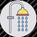 bath shower, bathe, cleanness, shower head, bath accessory