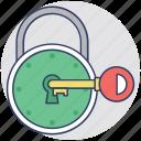 lock, security, real estate concept, key lock, padlock