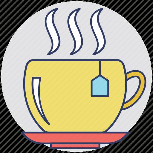 breakfast, hot tea, instant tea, morning, tea icon
