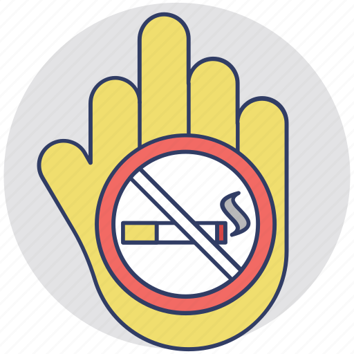no cigarette, no smoking, quit smoking, smoking prohibited, tobacco free zone icon