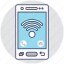 cellular signals, gsm signals, wifi connection, wifi signals, wireless internet