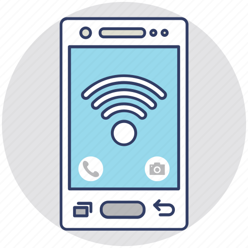 cellular signals, gsm signals, wifi connection, wifi signals, wireless internet icon