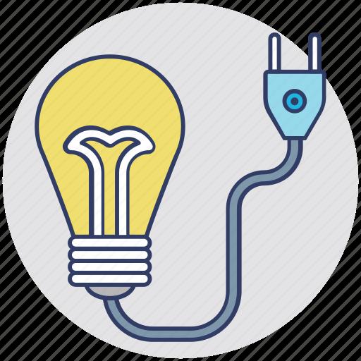 bulb, electricity, energy, illumination, light icon