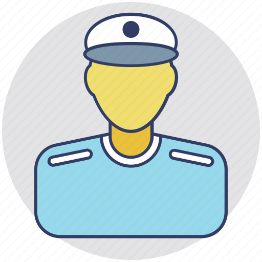 caretaker, night watchman, police officer, security guard, watchman icon