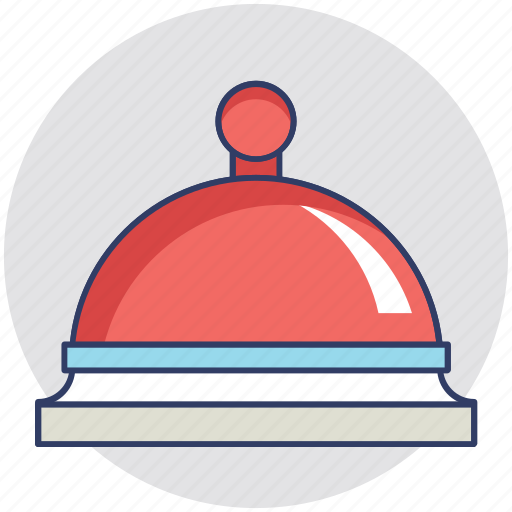 bell, hotel bell, reception bell, restaurant bell, ring bell icon
