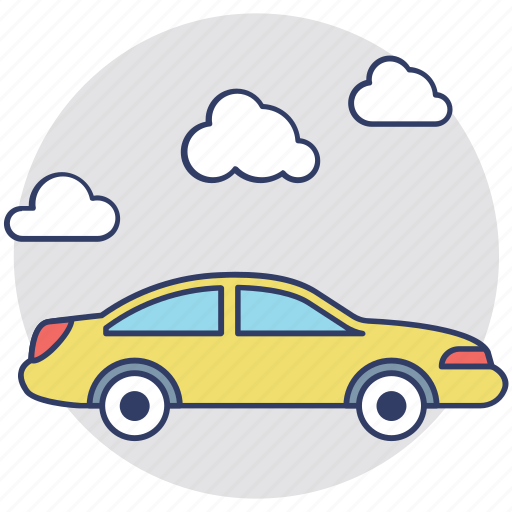 car rental, hire car, rented vehicle, taxi cab, vehicle icon