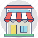 marketplace, shop, shopping, shopping center, store icon