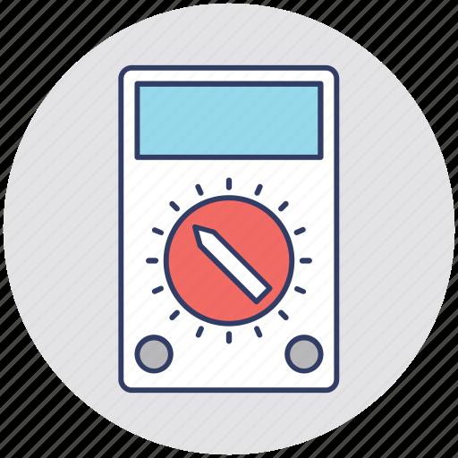 Ammeter, ampere, meter, multimeter, voltmeter icon - Download on Iconfinder