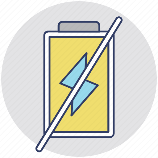 forbidden battery sign, mobile battery, mobile not charge, no battery, not charge icon