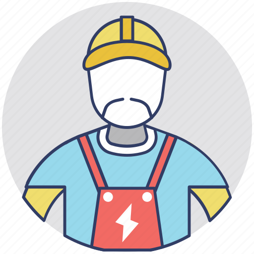 Electrical engineer, electrician, electronics technician, lineman, wireman icon - Download on Iconfinder