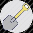 digging tool, garden trowel, hand trowel, shovel, spade