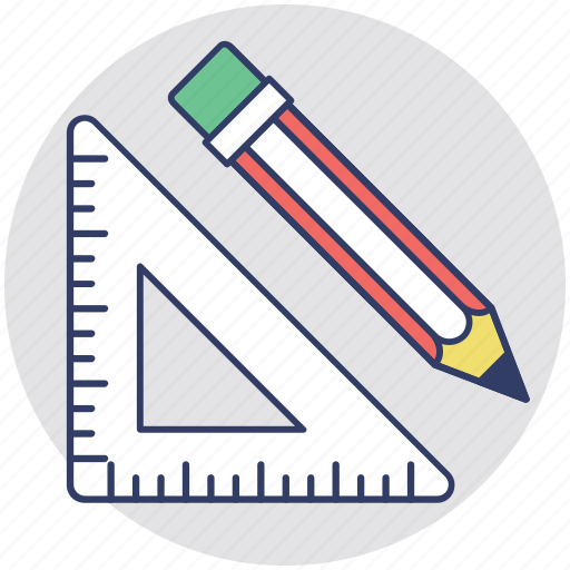 Architecture, draft tools, drafting, draftsmanship, mechanical drawing icon - Download on Iconfinder