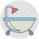 bathroom, bathtub, jacuzzi bath, shower, spa icon