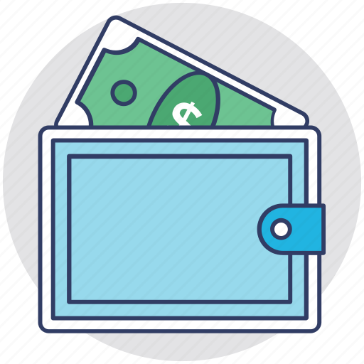 cash, fee, money, payment, wallet icon