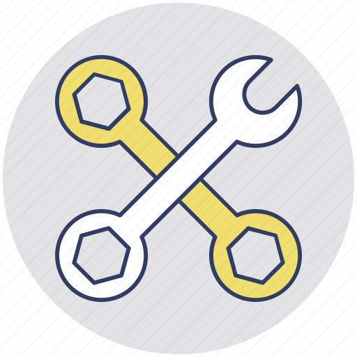 Configuration, tools, service tool, maintenance, settings icon