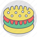 baked food, bakery, cake, food, sweet dessert icon
