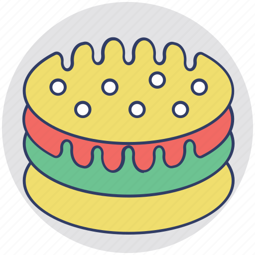 Baked food, bakery, cake, food, sweet dessert icon - Download on Iconfinder